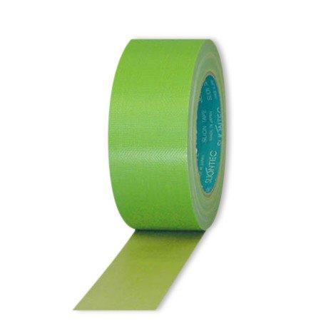スリオンテック 養生用布粘着テープ ライトグリーン 38mm×25m