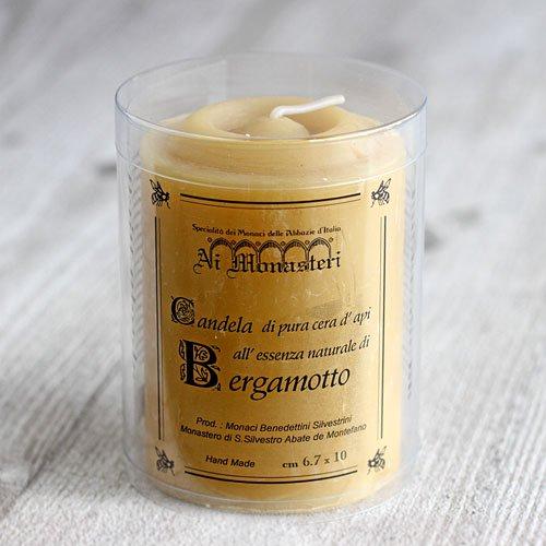 ベルガモットの香り 天然蜜蝋のアロマキャンドル のイメージ