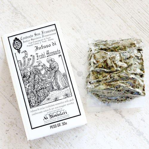 聖マンスエート修道士の煎じ茶(ハーブティー) のイメージ