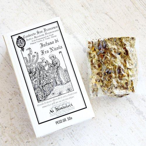 聖ニコラ修道士の煎じ茶(ハーブティー) のイメージ