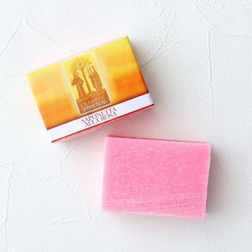 クラリッセ修道会レシピのローズ石鹸 【 Saponetta alla Rosa CLARRISSE 】 のイメージ