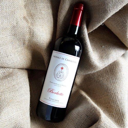 カマルドリ修道院 Vino BORBOTTO Rosso (赤ワイン) 【IGT】 のイメージ