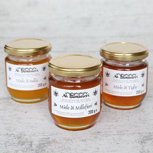 蜂蜜3種ギフトセット のイメージ