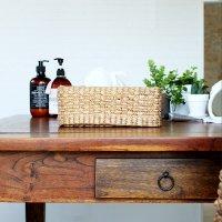 送料無料 ウォーターヒヤシンス・ティッシュボックス<br>直輸入,北欧家具,木製家具,アジアン家具,雑貨