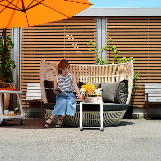 送料無料【オーランド】サイドテーブル49x36 直輸入 北欧家具 木製家具 アジアン家具 雑貨