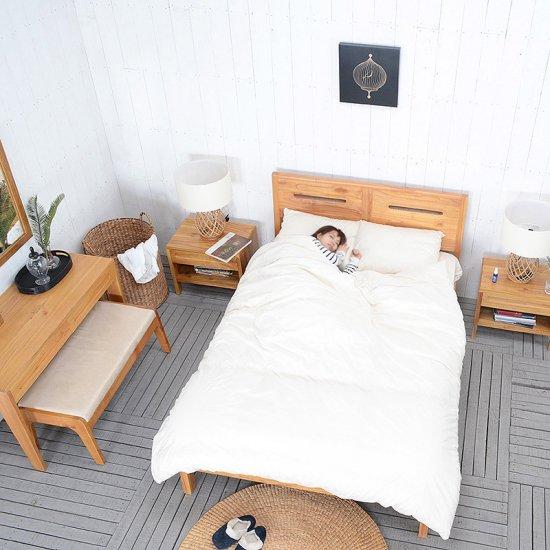 送料無料 ミンディ【バスコ】ナイトスタンド