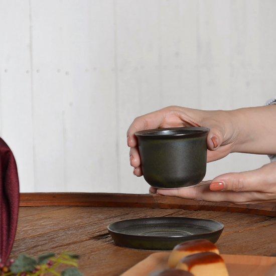 LEAVES TO TEA カップ&ソーサー KINTO