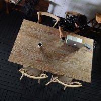 送料無料 【フレジエ】ダイニングテーブル1500(PJT448) アジアン家具 古木 テーブル 机 デザイナーズ