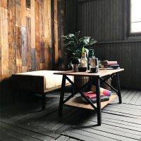 送料無料 ユーズドウッド【アクシア】コーヒーテーブル