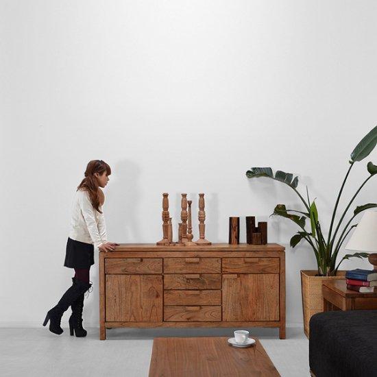 ミンディ・サイドボードアジアン家具の店CORIGGE MARKET