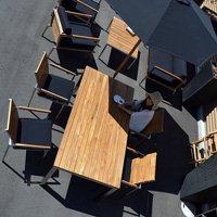 送料無料!!アウトドア ガーデン家具 チーク【メキシコ】ダイニングテーブル