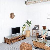 送料無料!!【カルノーサ】TVキャビ(ショートタイプ)(直輸入,アジアン家具,雑貨)