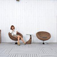 送料無料!! ジュート【ボンバックス】オケージョナルチェア 回転椅子