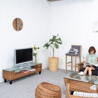 送料無料!!【ランタナ】TVキャビネット(ロングタイプ)(直輸入,アジアン家具,雑貨)