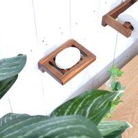 送料無料 チーク・ソープホルダー(掛け型)TF 直輸入,北欧家具,木製家具,アジアン家具,雑貨