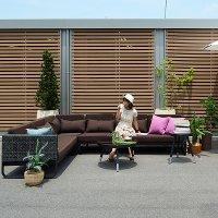 送料無料【タコ】コーヒーテーブル 70×70 アウトドア家具  ガーデン家具 アジアン家具