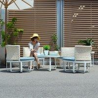 【ロータス 】コーヒーテーブル アウトドア家具 送料無料 直輸入 アジアン家具 雑貨