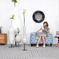 送料無料 HPフラワーベース(ホワイト)#GB14044 アジアン家具 雑貨