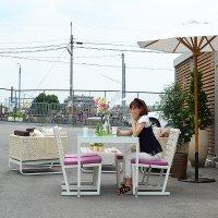 送料無料【カリ】ダイニングチェア アウトドア家具 アウトドア家具 ガーデン家具 シンセティックラタン