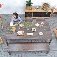 送料無料 【ウェハ】ダイニングテーブル 91071 ダイニング テーブル table 木製 北欧 食卓 ウォールナット ウォルナット