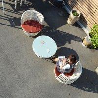 送料無料!【アプリコット 】コーヒーテーブル<br> アウトドア家具 ガーデン家具 ガーデンファニチャー 庭用 外用 屋外用
