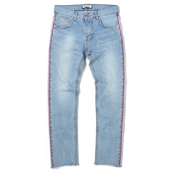 SIDE LINE DENIM PANTS