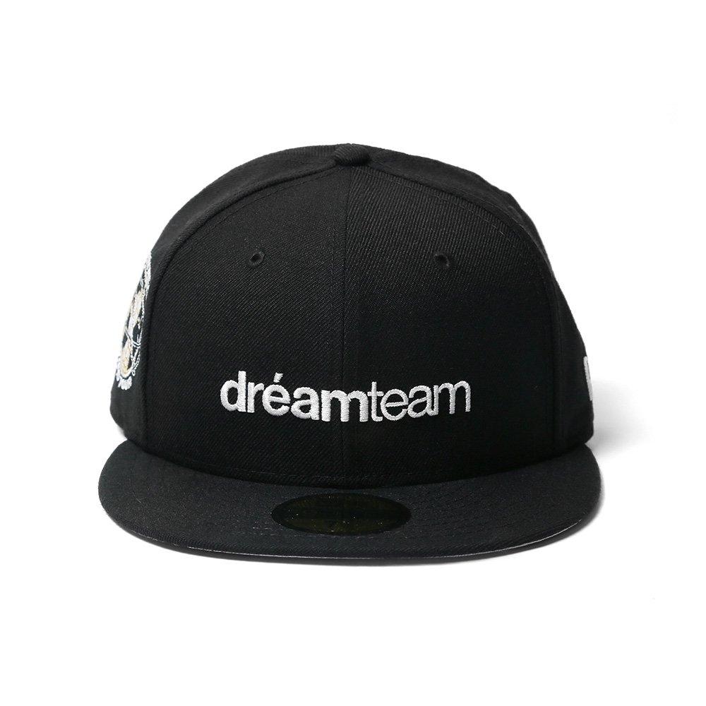 basic logo 10th anniv new era fitted cap dream team online shop