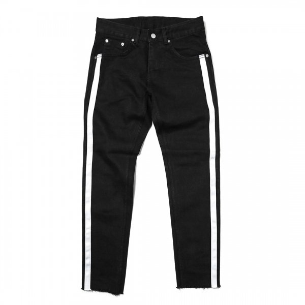 SIDE LINE BLACK PANTS