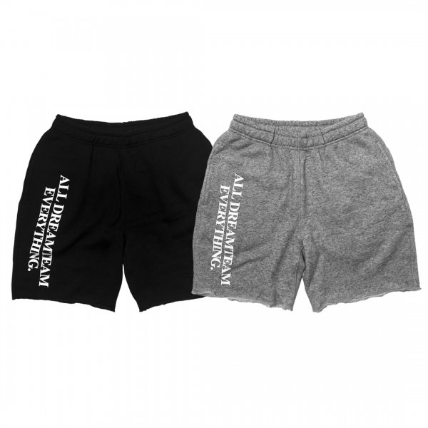 A.D.E CUT OFF SWEAT SHORTS