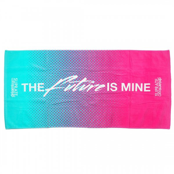 SUPRATExDREAM TEAM / FUTURE IS MINE BEACH TOWEL