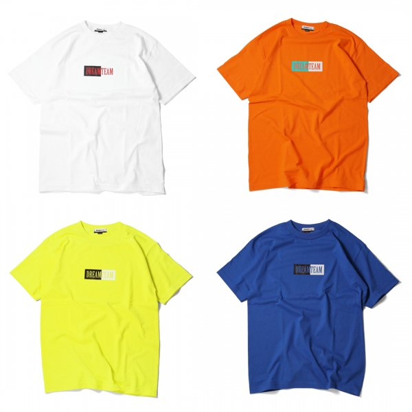 BOX LOGO 2TONE T-SHIRTS