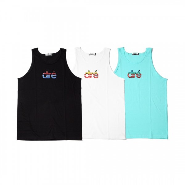 dre' 80s LOGO TANK TOP<img class='new_mark_img2' src='//img.shop-pro.jp/img/new/icons16.gif' style='border:none;display:inline;margin:0px;padding:0px;width:auto;' />