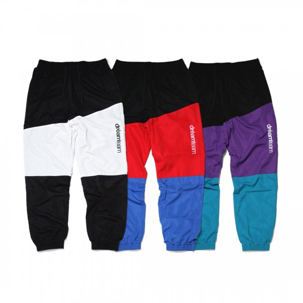 <img class='new_mark_img1' src='//img.shop-pro.jp/img/new/icons24.gif' style='border:none;display:inline;margin:0px;padding:0px;width:auto;' />PANELED NYLON TRACK PANTS