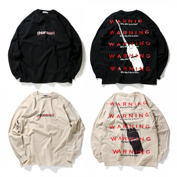 Warning Talkie L/S T-SHIRTS