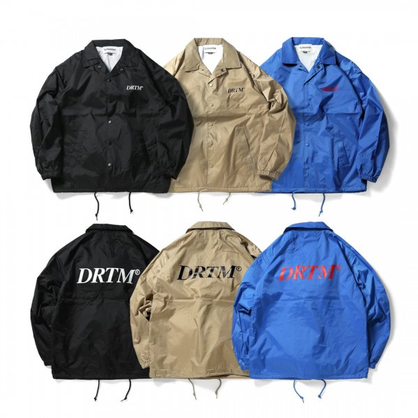 DRTM Logo Coach Jacket