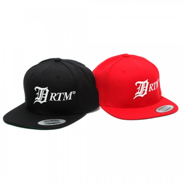 "Old ""D""RTM Logo Snap Back Cap"