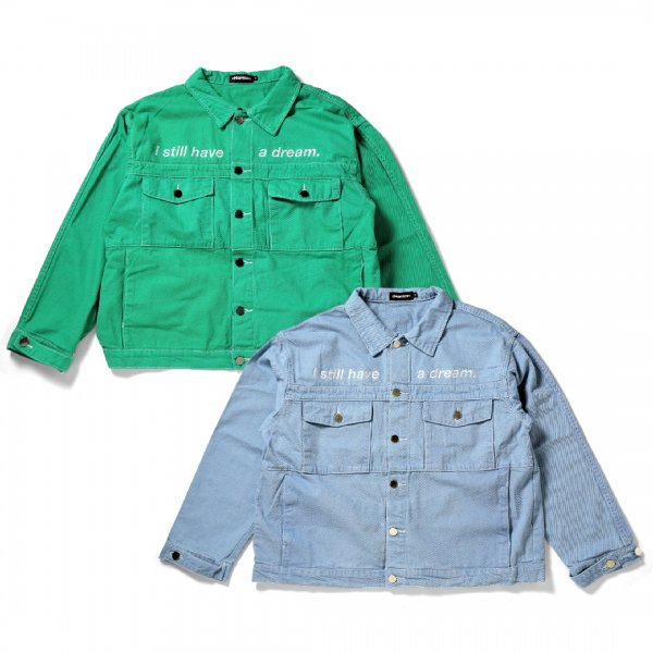 Color Trucker Jacket