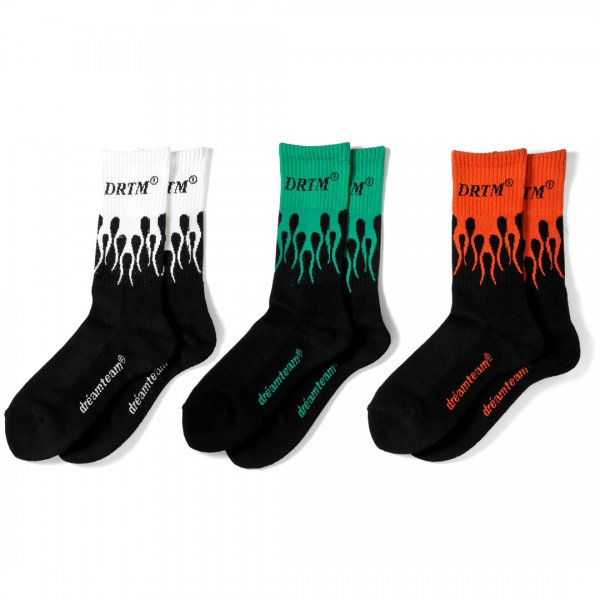 DRTM Flame Socks
