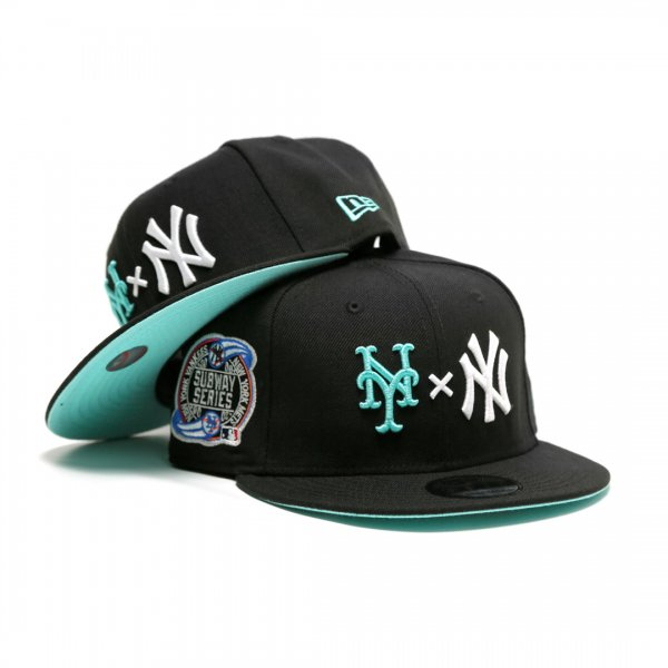New York Yankees x New York Mets x Dream Team Subway Series New Era 9Fifty Snap Back Cap