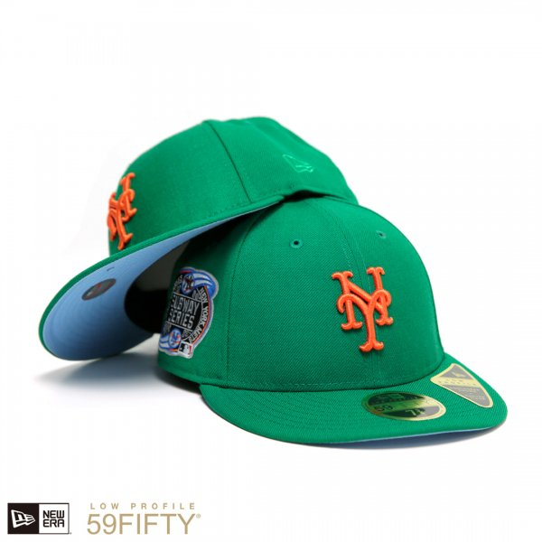 New York Mets Subway Series New Era Low Profile 59Fifty Cap [Light Blue Bottom]【Dream Team別注】