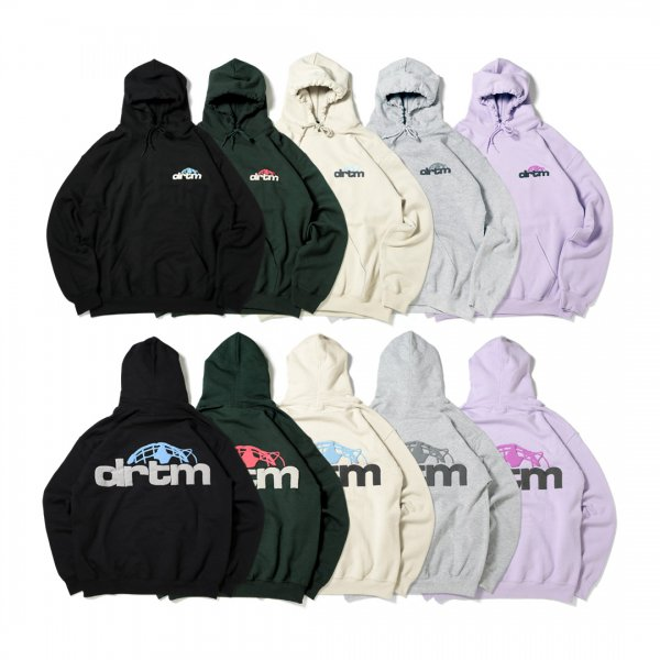 drtm World Logo Hooded Pullover (8.0oz)