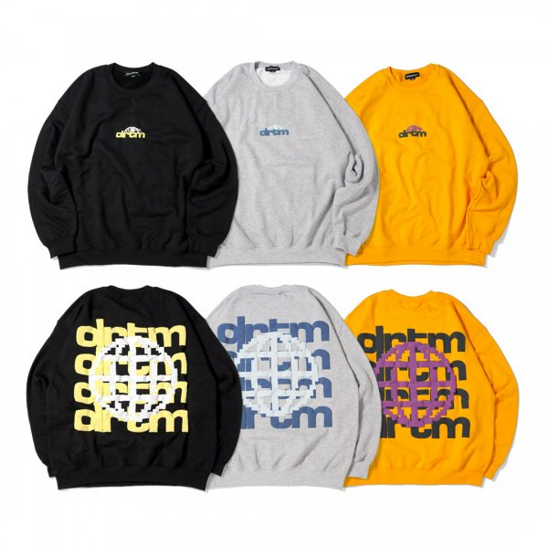 drtm World Logo Crewneck Sweat (8.0oz)