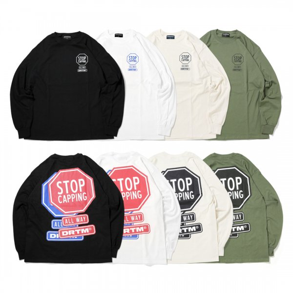 Stop Capping Long Sleeve T-Shirts