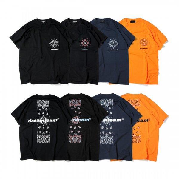 dreamteam Paisley Pocket T-Shirts
