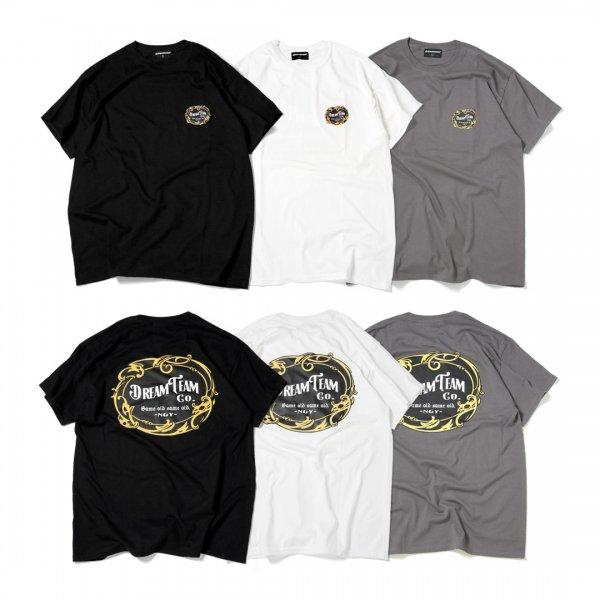 DREAMTEAM Emblem Logo T-Shirts<br>【Restock & New Color】