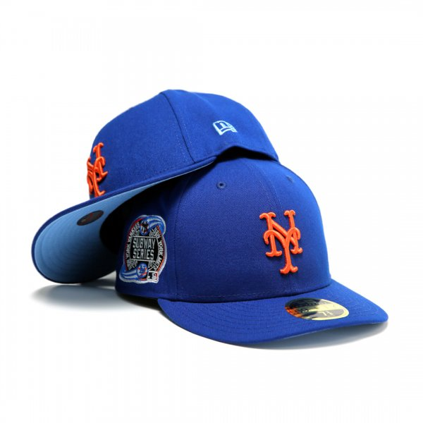 New York Mets Subway Series New Era Low Profile 59Fifty Cap Light Royal [Light Blue Bottom]