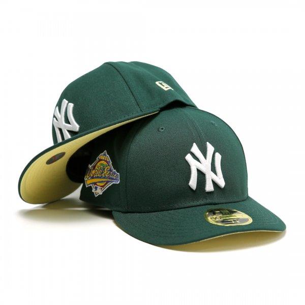 New York Yankees 1996 World Series New Era Low Profile 59Fifty Cap Dark Green [Light Yellow Bottom]