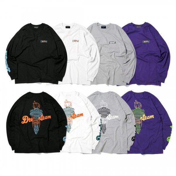 Torch Logo Long Sleeve T-Shirts