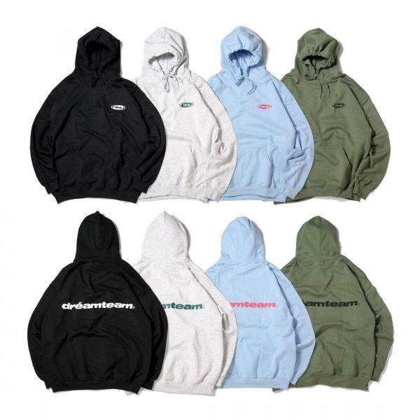 dre Oval Logo Hooded Pullover (8.0oz)