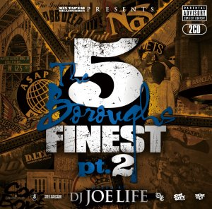 DJ JOE LIFE / THE 5 BOROUGHS FINEST pt.2 (2CD)